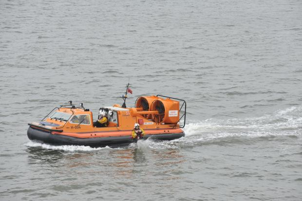 Coastguard rescues two people cut off by tide