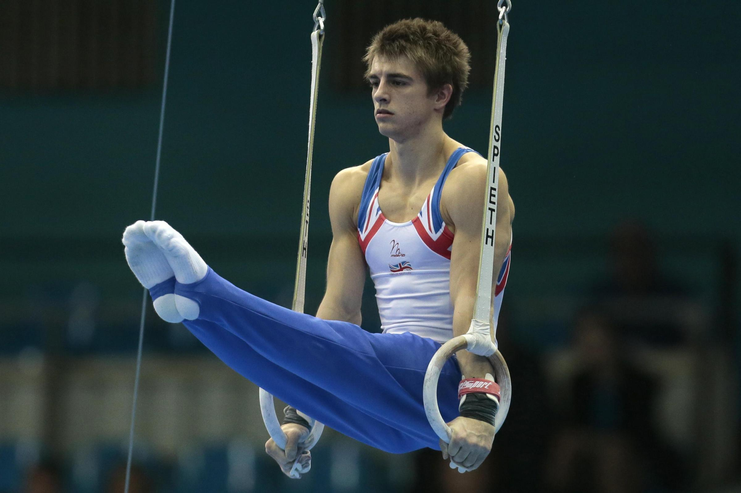 World Championships debut - Max Whitlock