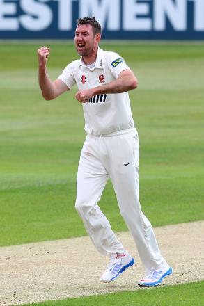 Urging caution - senior Essex bowler David Masters
