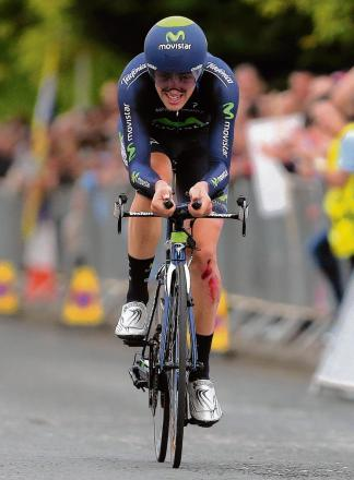 Movistar time-trial specialist will feature in the Echo's Tour de France covera