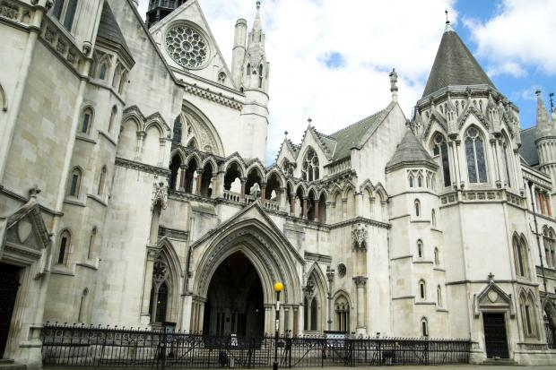 The Royal Courts of Justice, where the Court of Appeal sits
