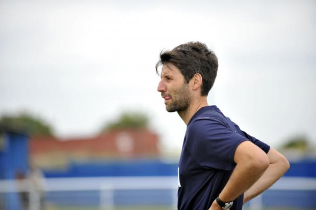 Danny Cowley - takes his team to Bromley tonight