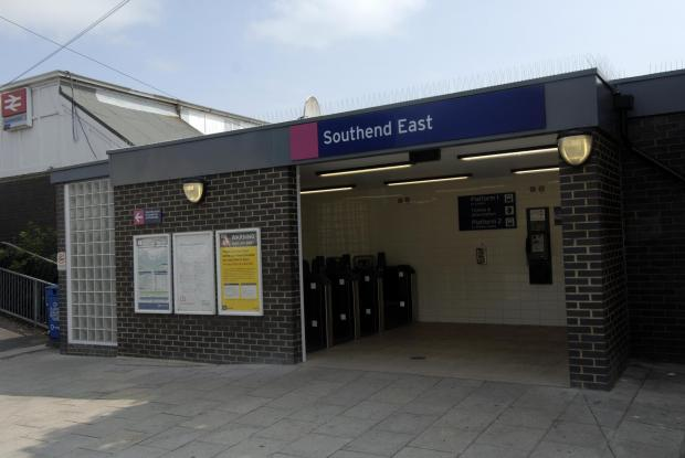 The alleged rape took place near Southend East train station