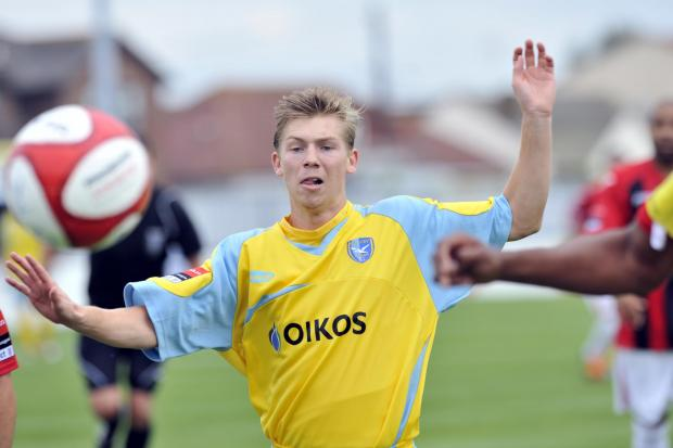 Echo: Harrison Chatting says he hopes to return to Canvey's first-team fold after scoring a hat-trick for their reserves on Saturday.