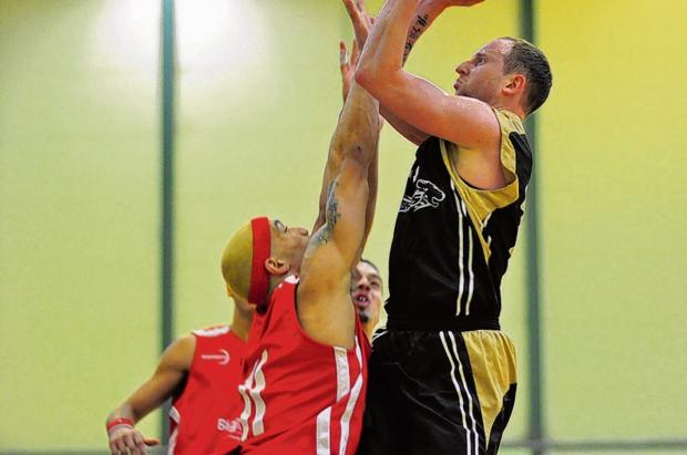Carl Josey - bagged 15 points for Leopards