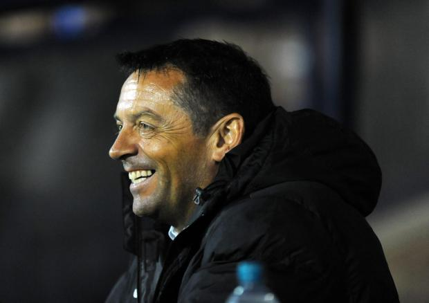 Echo: Phil Brown - refusing to give up on automatic promotion for his side