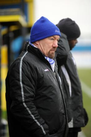 Craig Edwards saw his side lose 2-0 against Margate