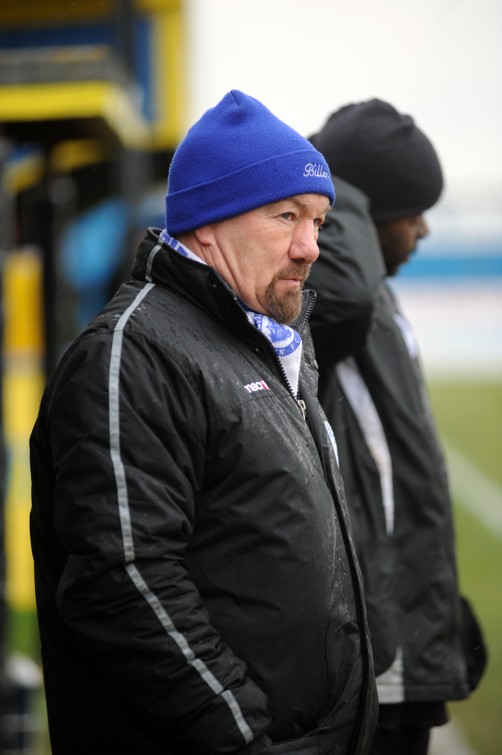 Craig Edwards - admitted to having mixed fortunes following Saturday's 3-3 draw at Thamesmead Town