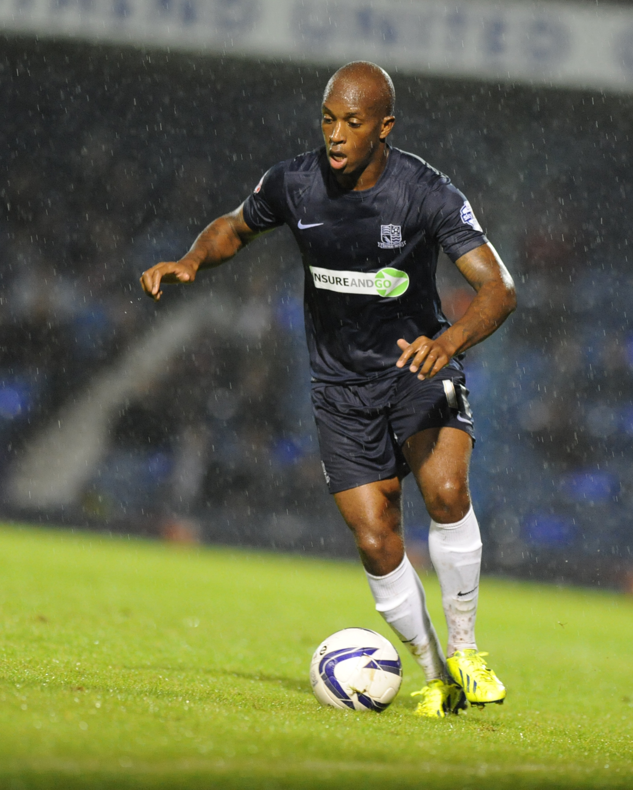 Anthony Straker - out to impress at York City this weekend