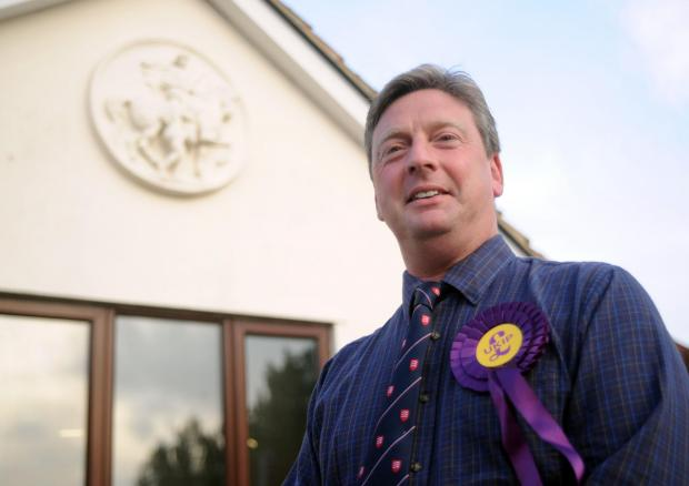 Jamie Huntman Ukip's parliamentary candidate for the island