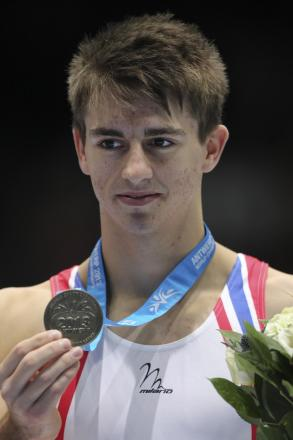Max Whitlock - does not see Louis Smith as a rival on the pommel