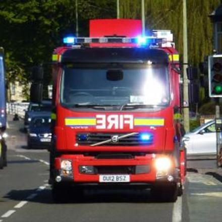 Arsonists strike at home