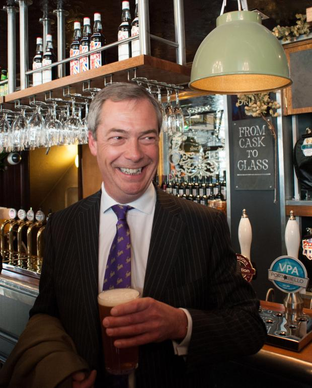 Echo: PARTY CONFERENCE: Nigel Farage to address UKIP's regional conference