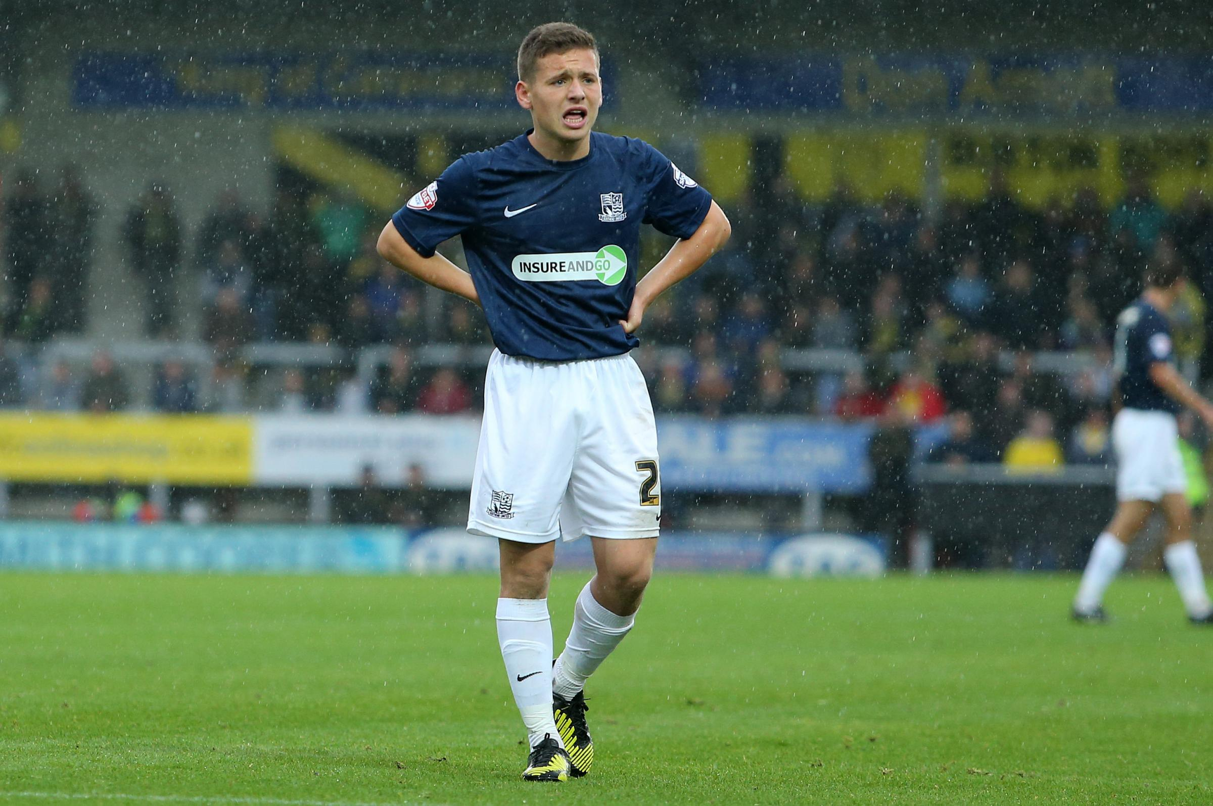 Jack Payne - wasted a good chance to score for Southend United