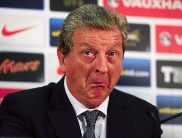 Echo: England manager Roy Hodgson has been left bemused by the furore over his half-time team talk as England qualified for the World Cup finals in Brazil next summer