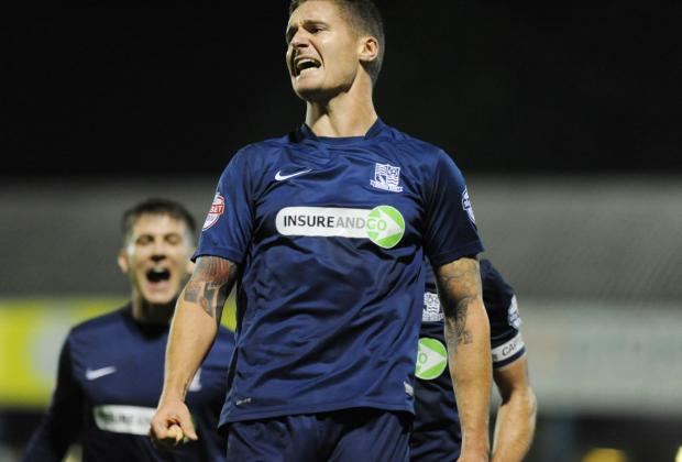 Barry Corr - on target for Southend United