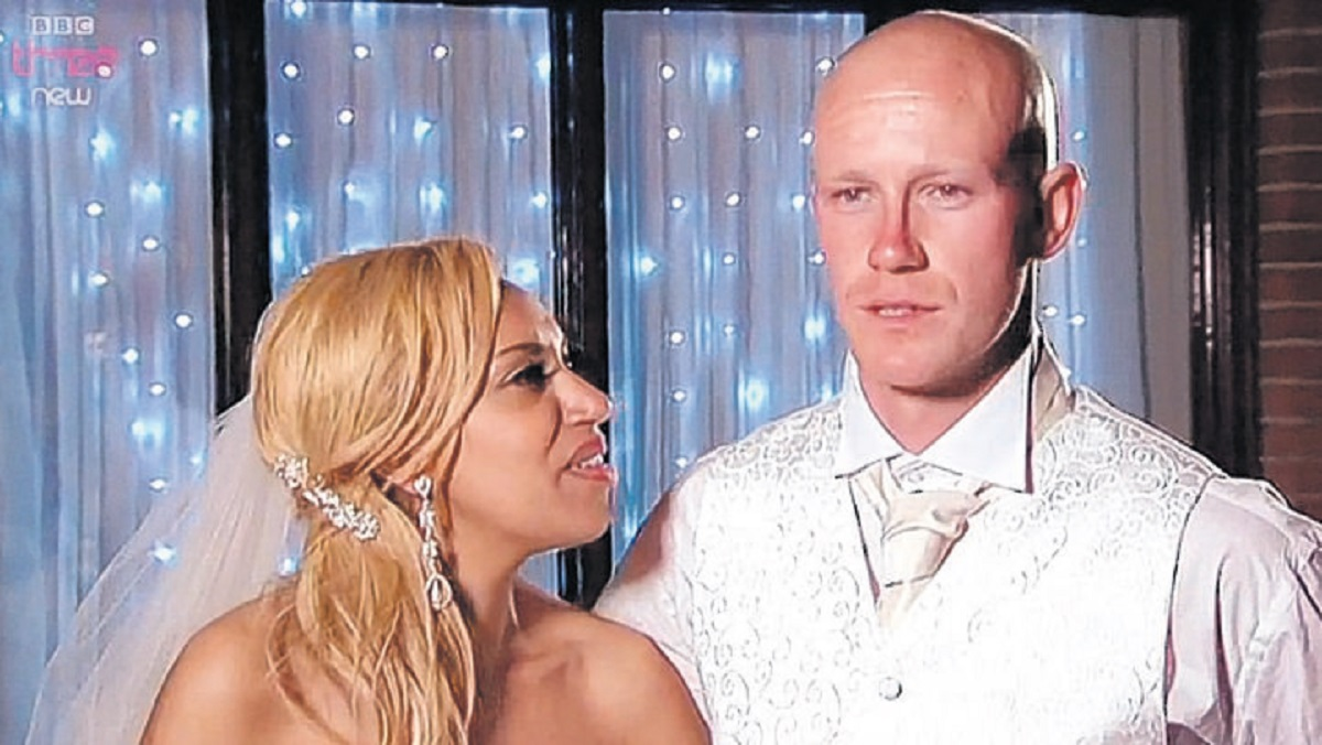 Kev's TV wedding is almost disaster