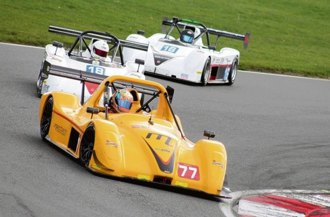 Lewis Plato finishes second in Radical Clubman's Cup