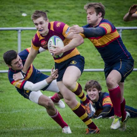 Ross Merrick - bagged a hat-trick of tries for Westcliff