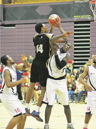 Howard Crawford - top scored for Essex Leopards
