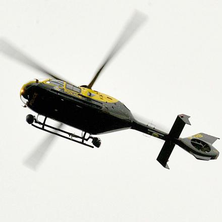 Police chopper chase snares rogue driver