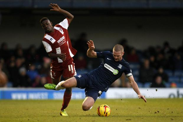 John White - on target for Southend United