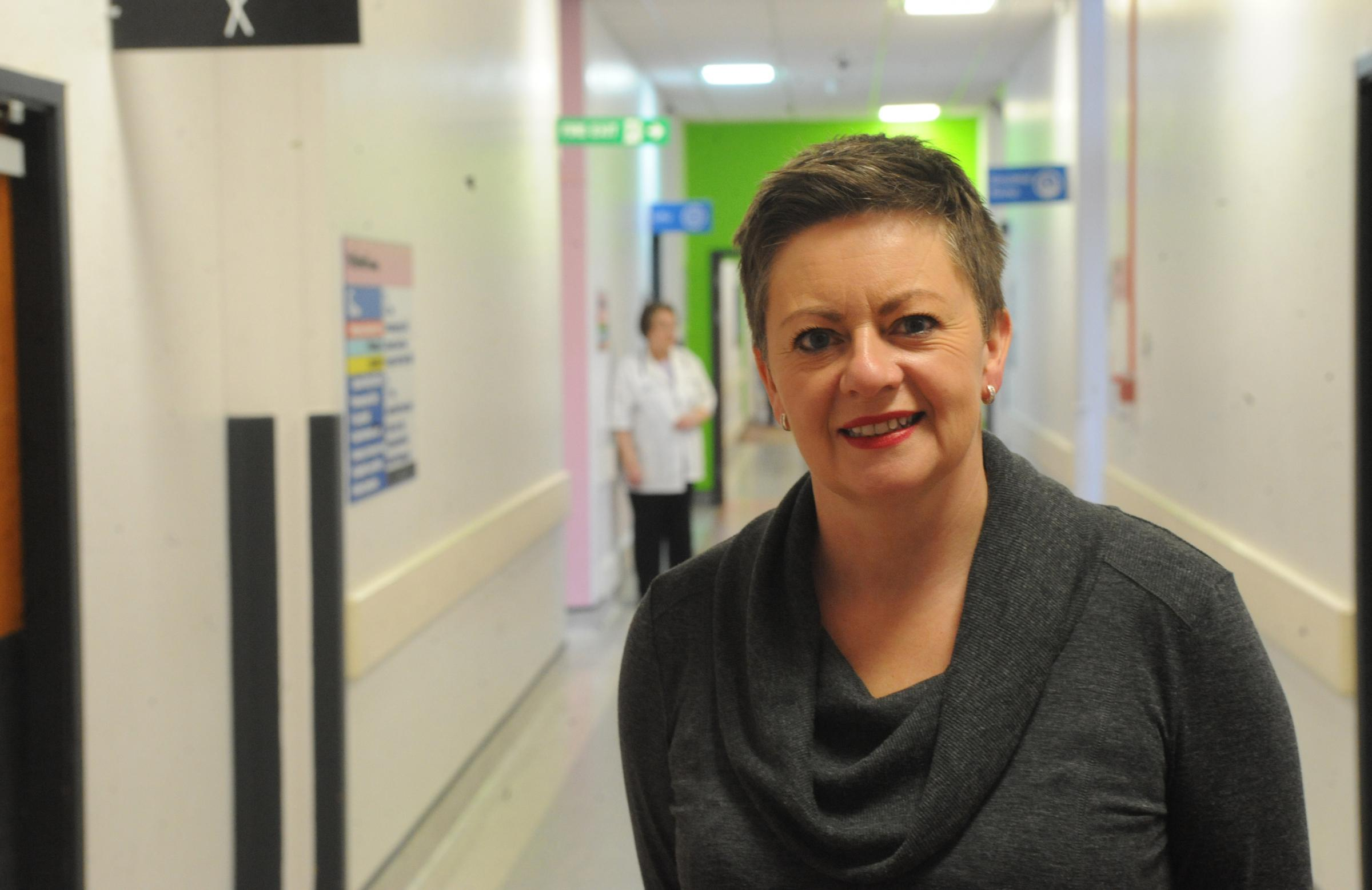 Proud – hospital chief executive Jacqueline Totterdell