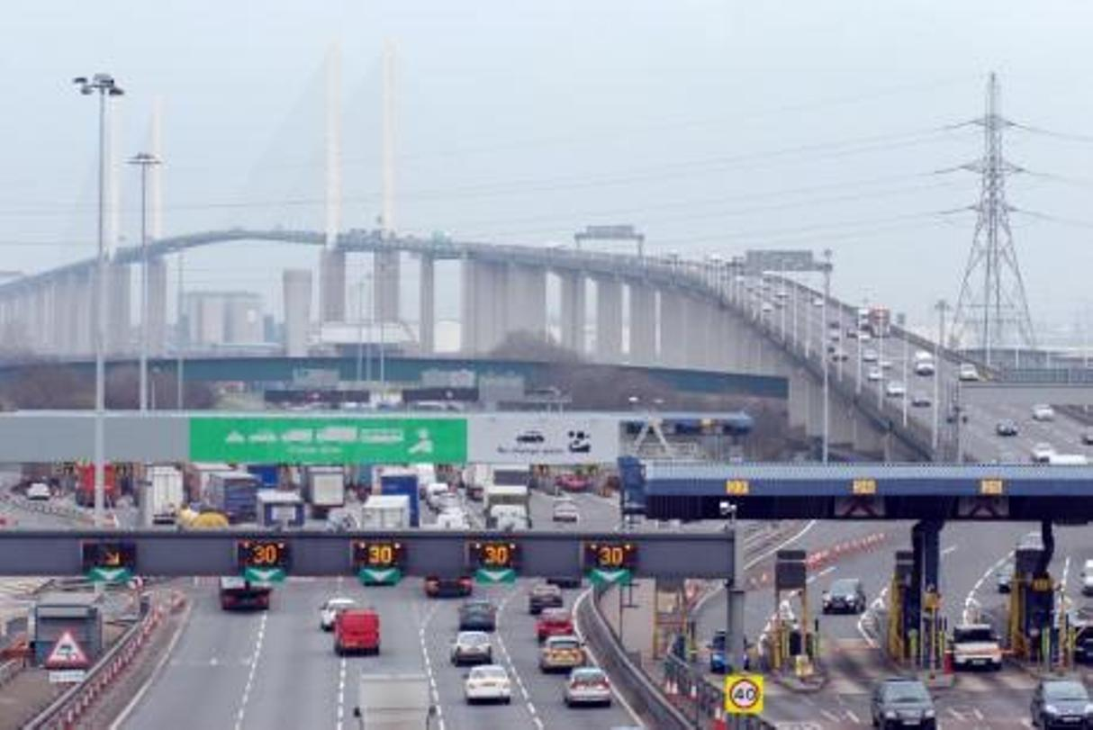 Dartford Crossing was closed for four hours while police searched for the man