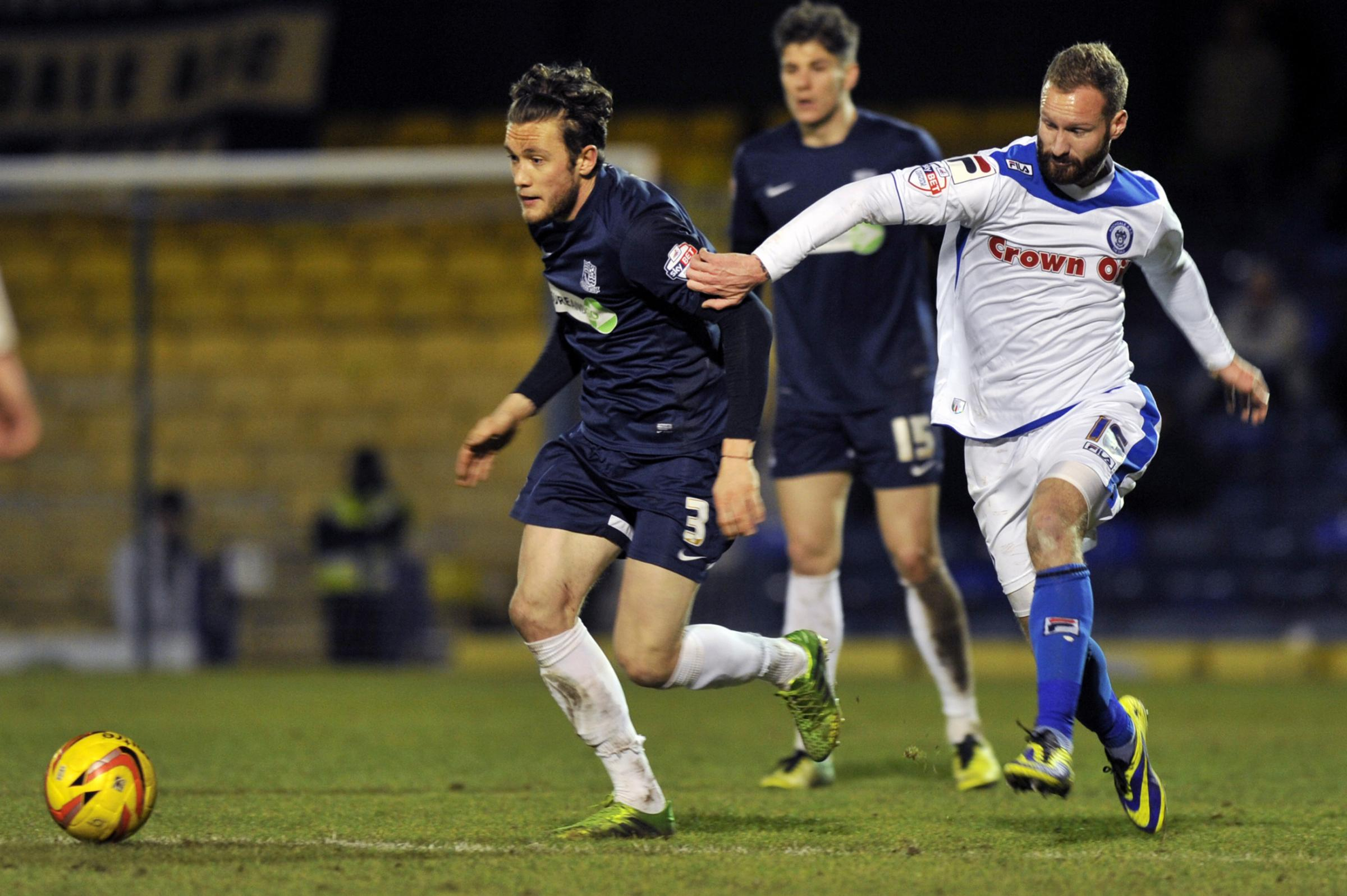 Ben Coker - wants Newport County to face the real Southend United at Roots Hall tonight