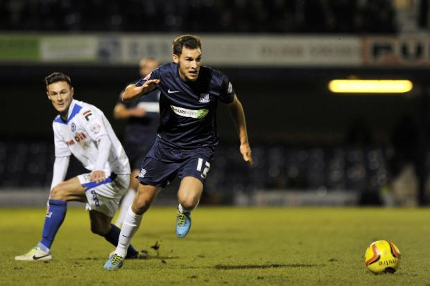 Will Atkinson - hit the post for Southend United in the first half