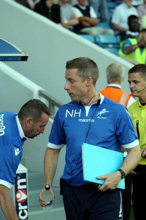 Neil Harris - in charge of Millwall against Southend United