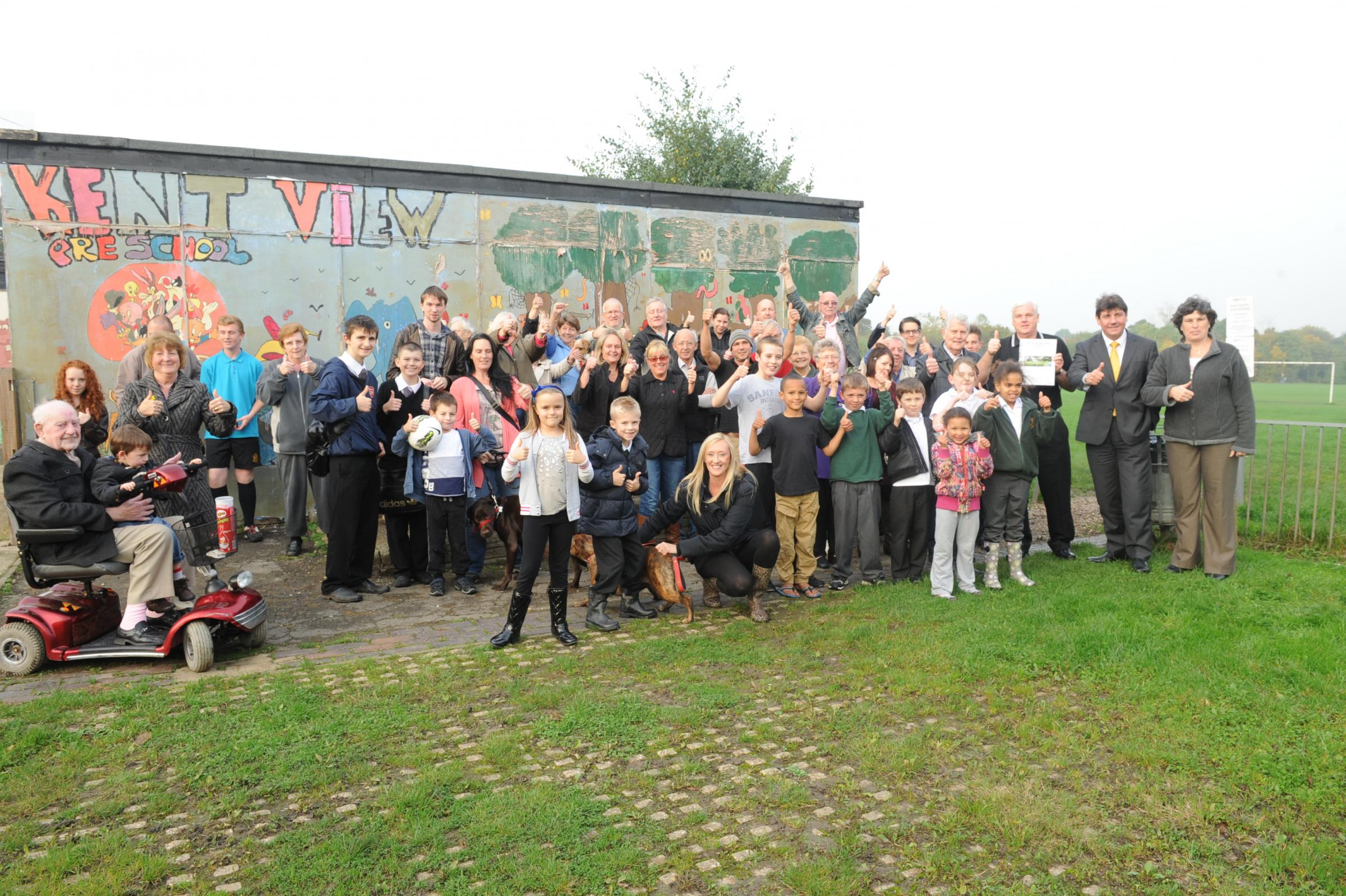 Community centre gets thumbs-up