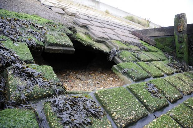 Standard of repairs to seawall called into question