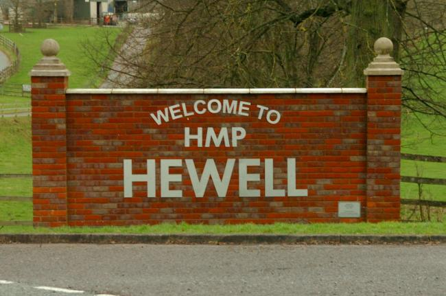 HMP Hewell in Tardebigge has been the subject of a drone package.