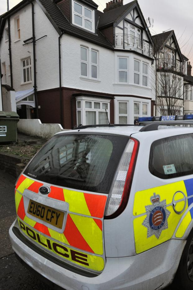 Echo: Updated: Man found dead in house in Valkyrie Road, Westcliff was killed by dog