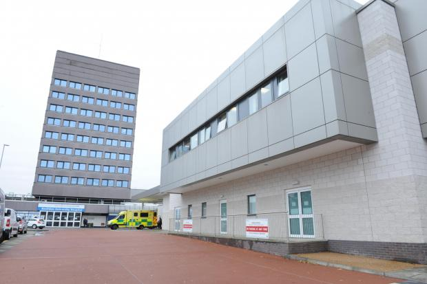 Basildon Hospital shelter 'will keep ground dry'