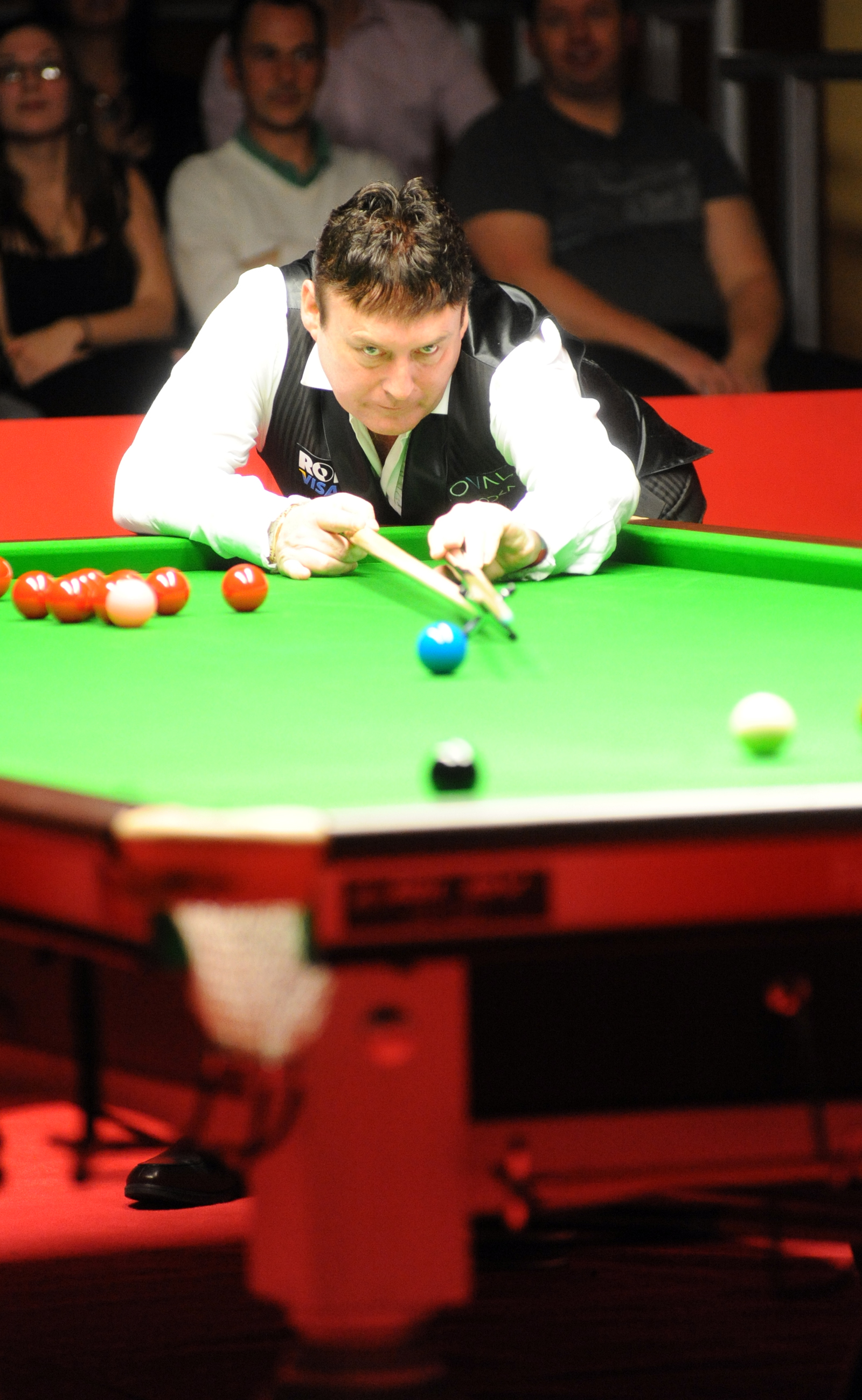 Snooker stars match spoiled by poor view