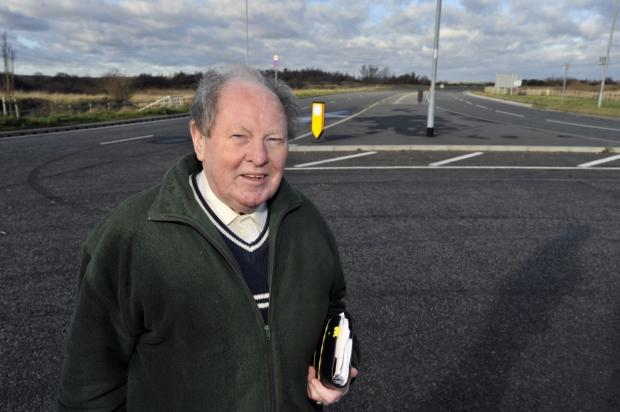 Councillor Ray Howard is very pleased with the news