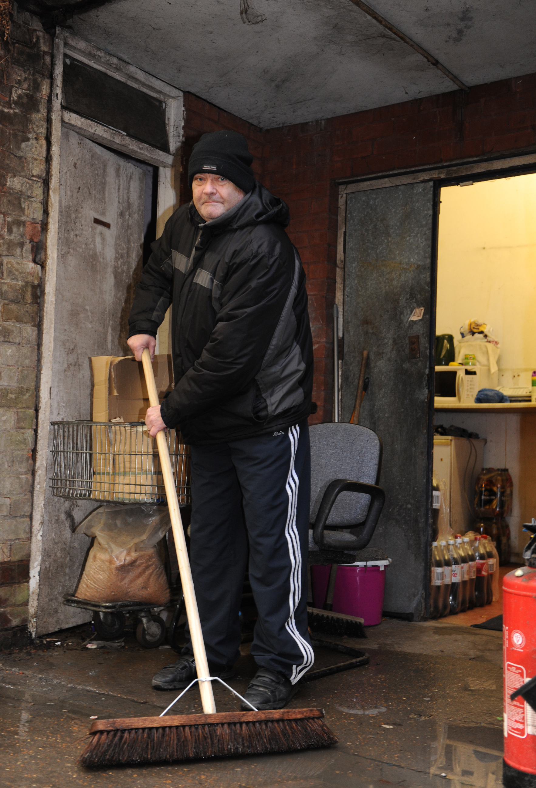 No help as dodgy drains stink out our row of shops