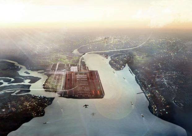 Boris Island airport plan is panned