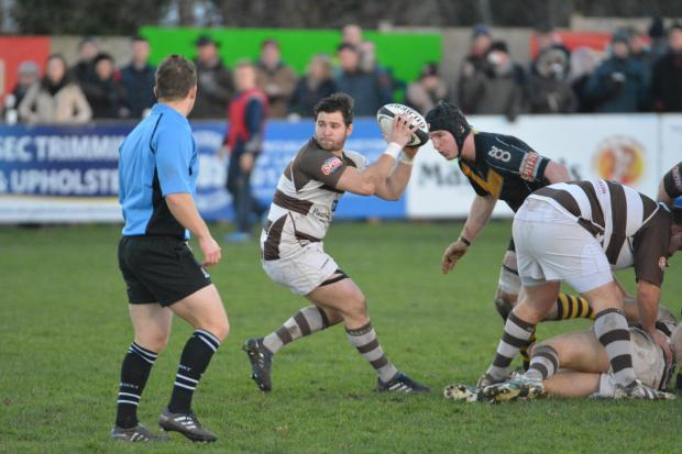 Lee Sandberg - played his final match for Southend Rugby Club