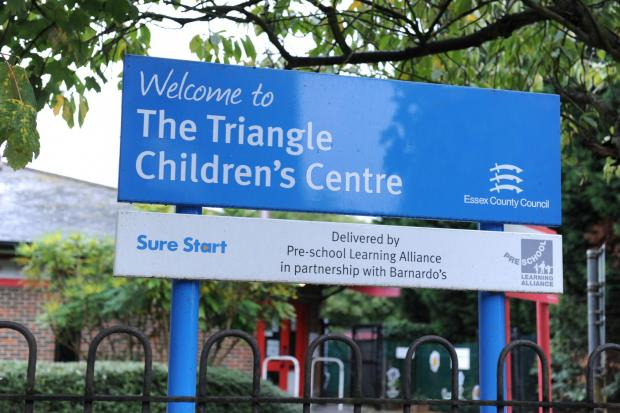 The Triangle Children's Centre in Wickford is under threat