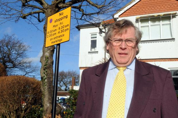Fined for picking up schoolchildren 'safely'