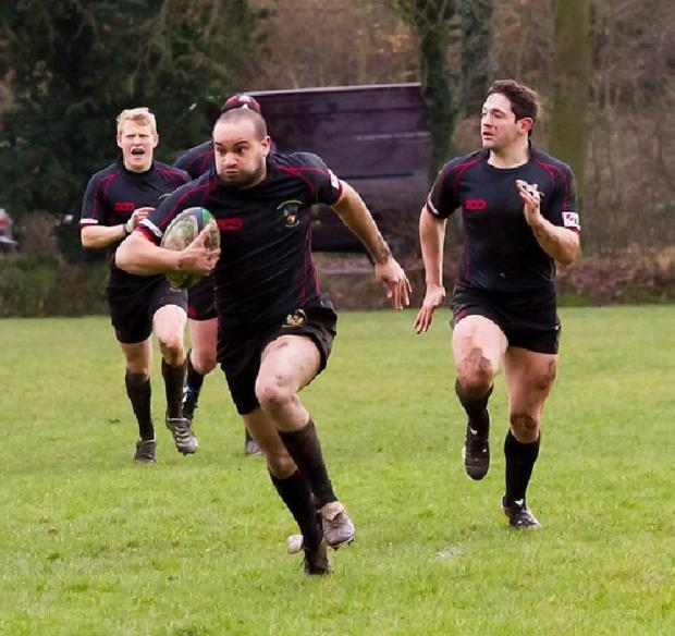 Echo: Mike Stemp - among the try scorers for Rochford Hundred