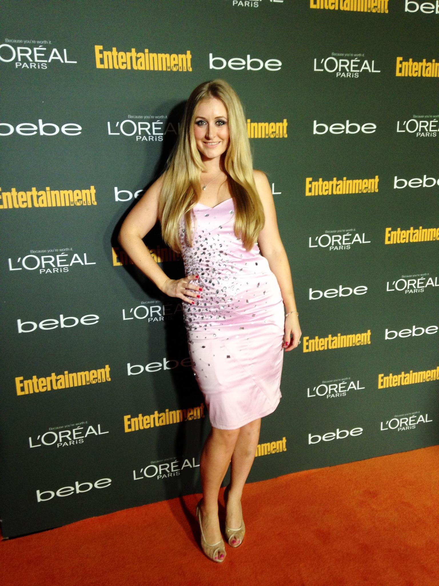 On the red carpet - Katie Amess in Los Angeles