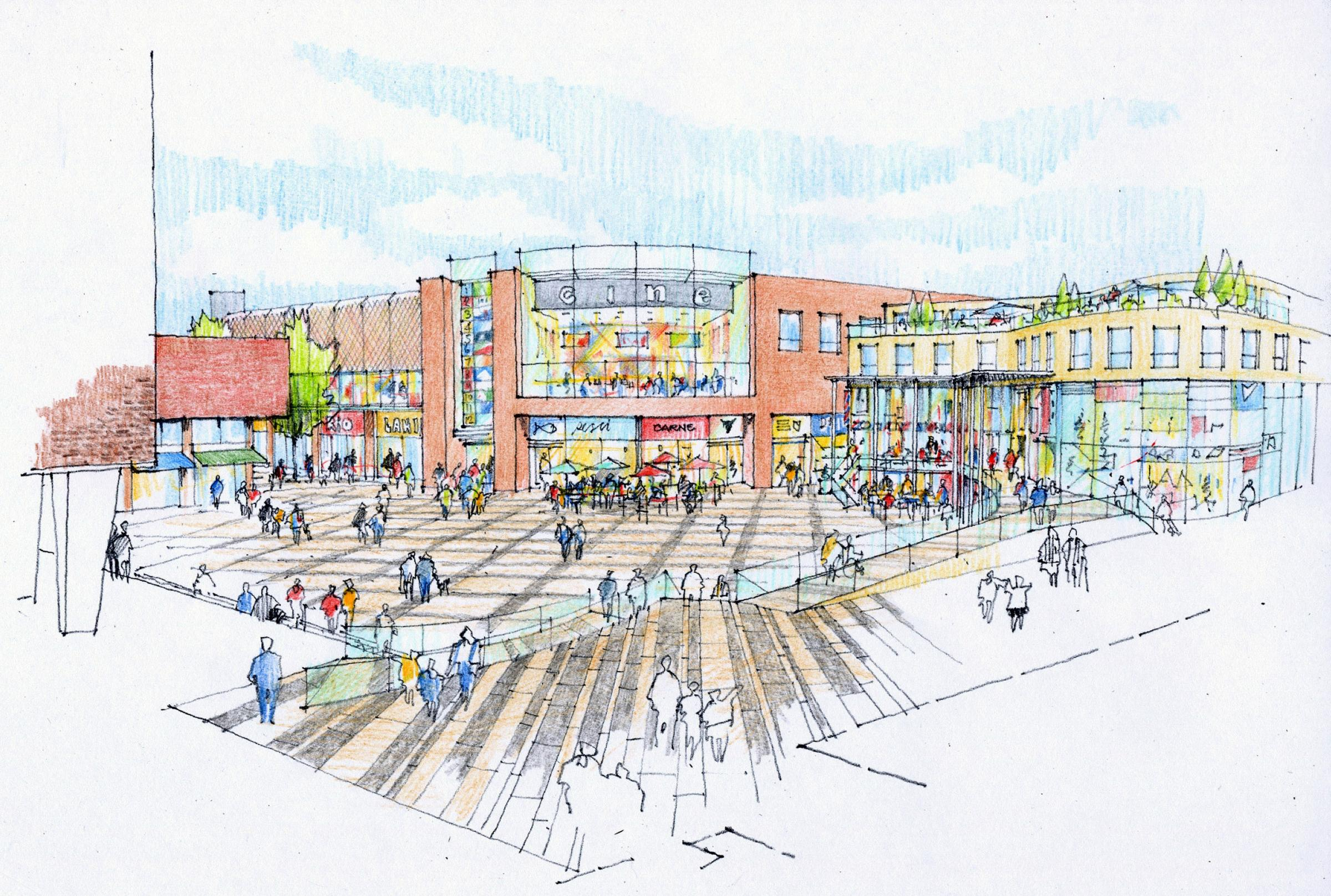 £1bn Basildon town centre plan lacks 'vision'