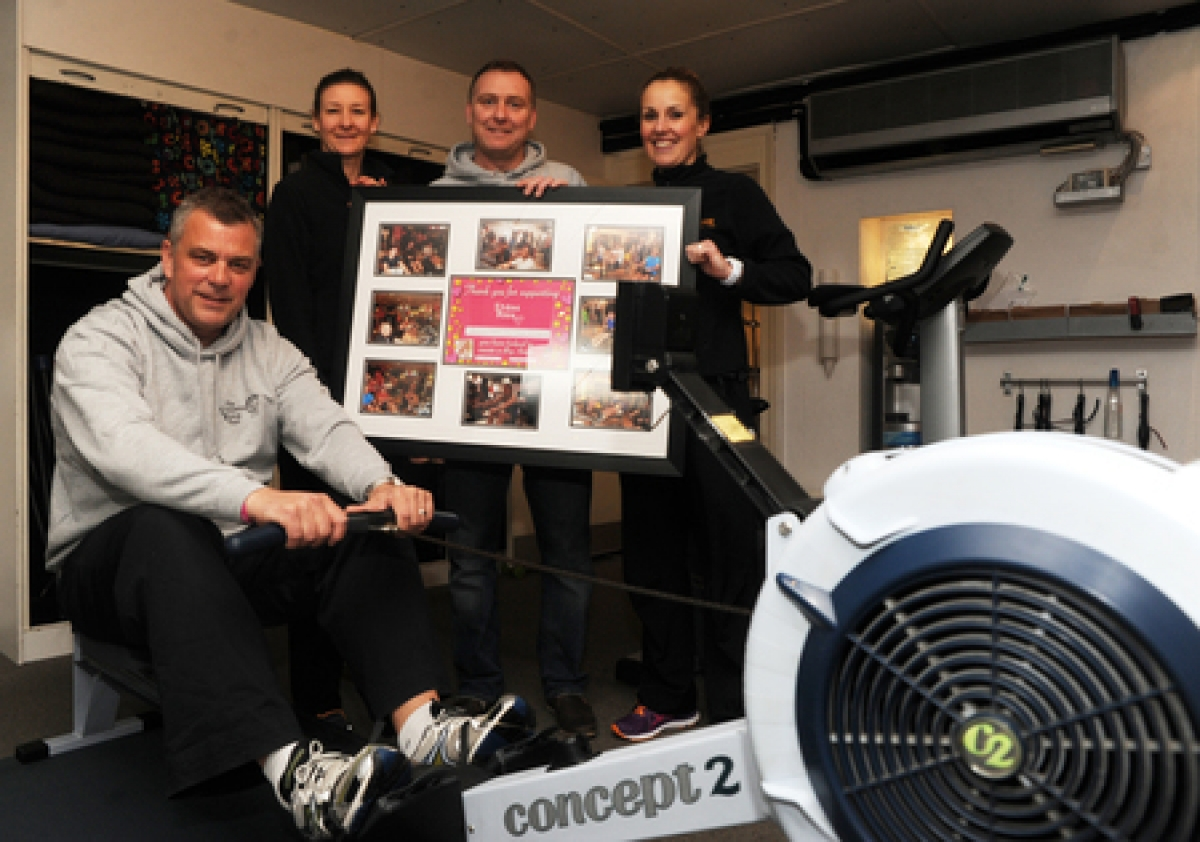 An oarsome feat for Canvey children's charity