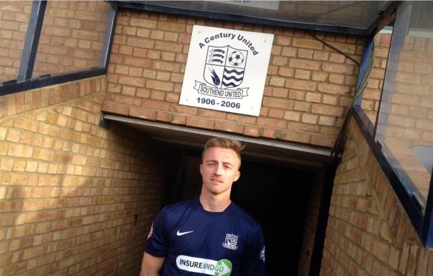 Lee Barnard - back at Southend United