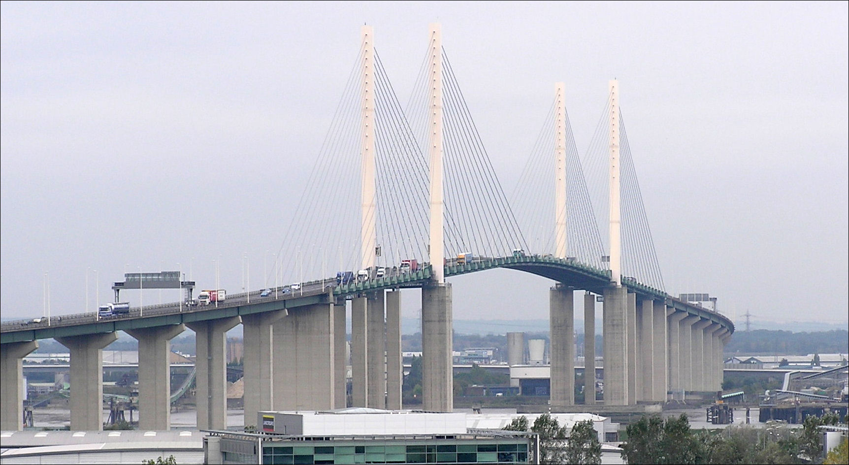 QEII Dartford bridge reopen following 18 hour closure due to high winds