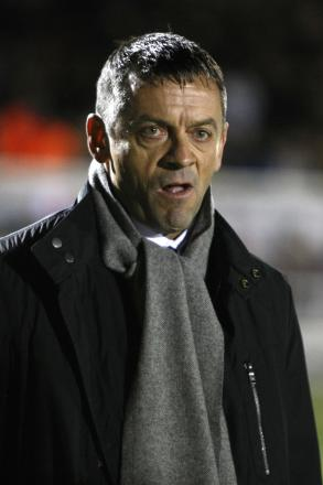 Phil Brown - has selected an unchanged starting line-up for tonight's game with AFC Wimbledon